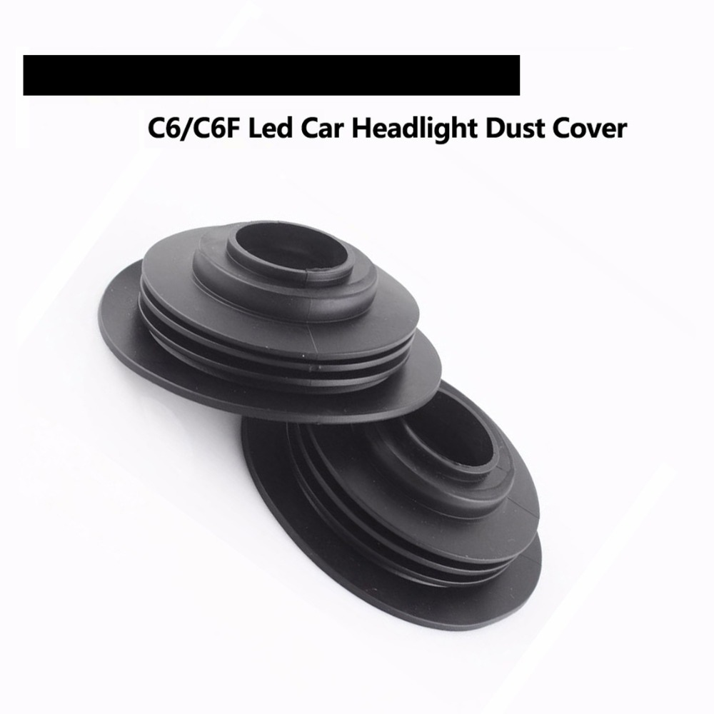 2Pcs Car LED C6 Dust Cover COB Chip LED Xenon HID HEADLIGHT KIT H1 H3 H4 H7 H8 H9 H11 H13 9004 9005 9006 9007 880 5202(China (Mainland))