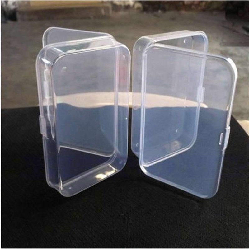 Azerin 1 PCS Practical Transparent Fine Storage Box Collection Container Case with Lid Free Shipping(China (Mainland))
