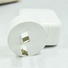 Free shipping 5V 2.1A AU Plug USB Wall Adapter Mobile Phone Charger for iPad 2 3 4 for iPhone 5/5C 5S 4/4S for iPod Touch(China (Mainland))