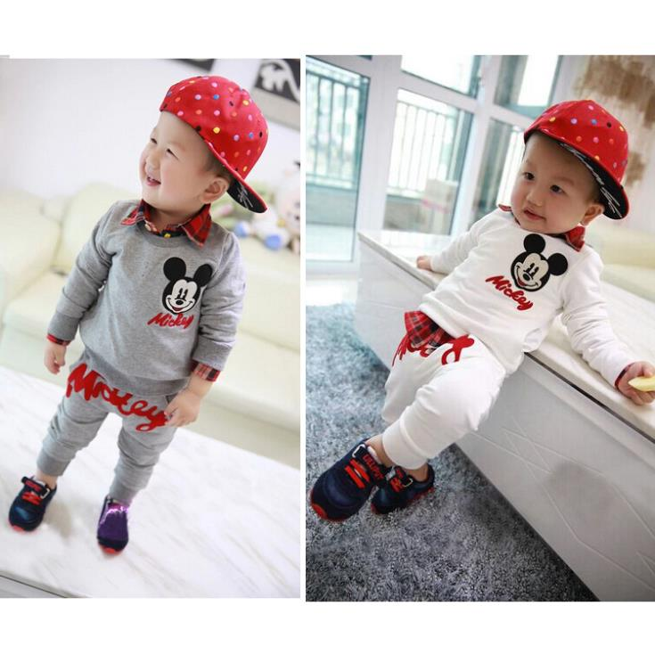 Casual Baby Suits Boys Clothes T-Shirt pant Tees Trousers Childrens Outfits Sets Sweatshirt T34<br><br>Aliexpress