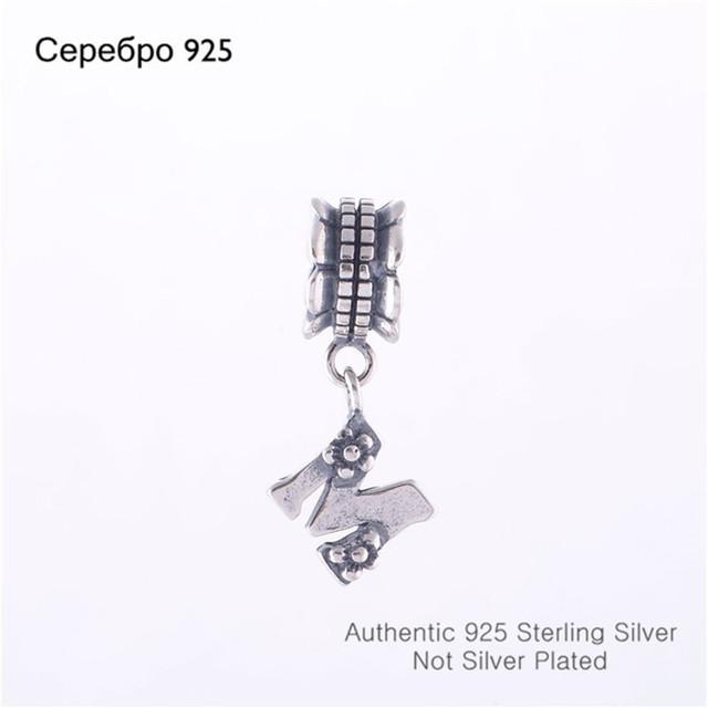 Подходит пандора браслет DIY создание аутентичные 100% стерлингового серебра 925 удача Metter м европейский бусины бренд очарование 2014 женщин ювелирные изделия