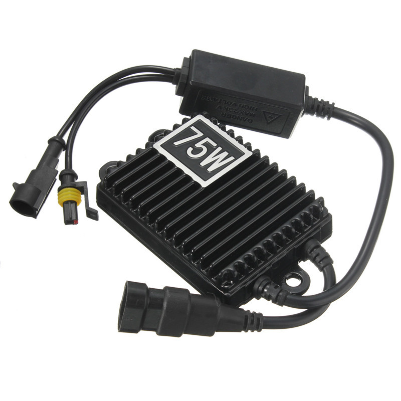 Best Price 75W For HID Bi Xenon Slim Digital Replacement Ballast Reactor Light For H1 H3 H7 9006(China (Mainland))