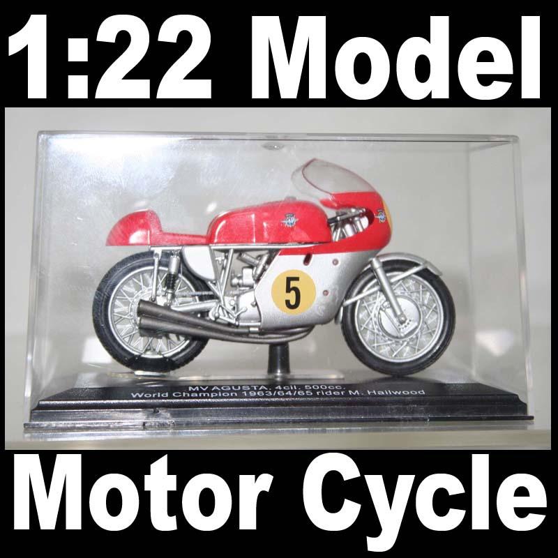 NEW 1:22 Motor Cycle Model Motorcycle Mv Agusta World Champion 1963 (Rider M. Hailwood) Diecast Model In Box Bike(China (Mainland))