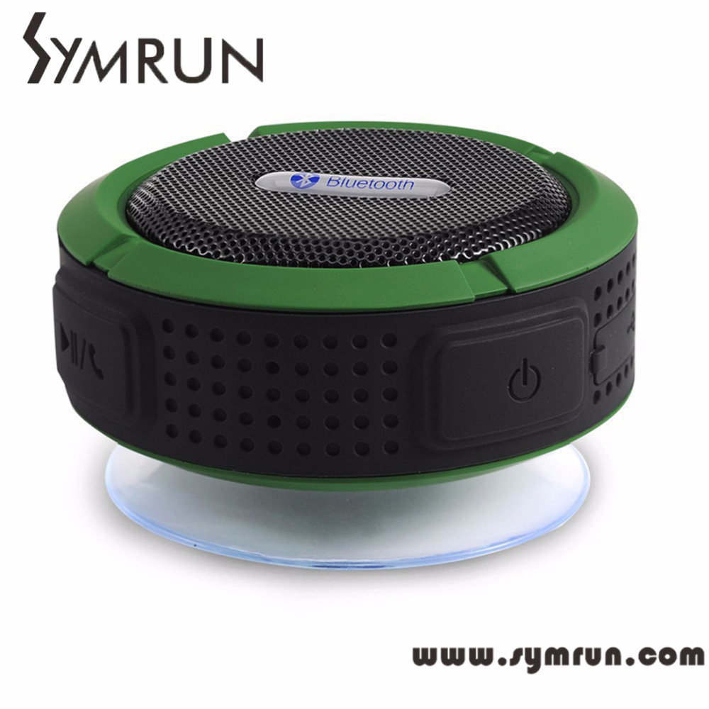 Symrun Waterproof And Dustproof Popular Brands Bluetooth Travel Speaker V3.0+Edr C6 portable speaker bluetooth(China (Mainland))