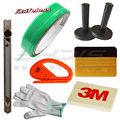 7Pcs Window Tint Tool Kit for Finish Line Knifeless Tape 3M Felt Squeegee Zippy Vinyl Cutter