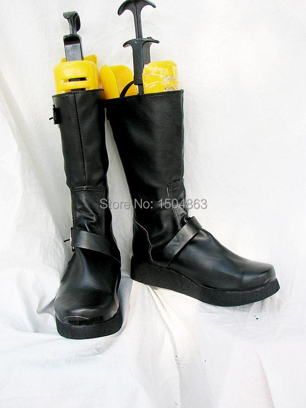 Здесь можно купить  NANA Cosplay Boots Cosplay Shoes Black High Boots Free Shipping  Обувь
