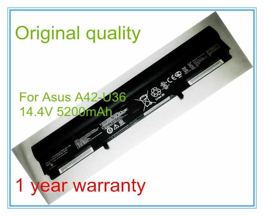 14.4V 5200mAh Original Laptop Battery for U32 U36 U40 U44 U46 U56 U36E U36J U36JC U82 U82U A42-U36 A41-U36 8CELL<br><br>Aliexpress