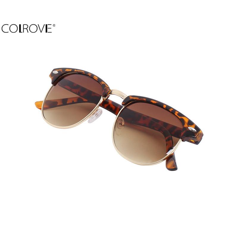 Brand Design Women's Fashion Cheap Clothes China Leopard Retro Sunglasses(China (Mainland))