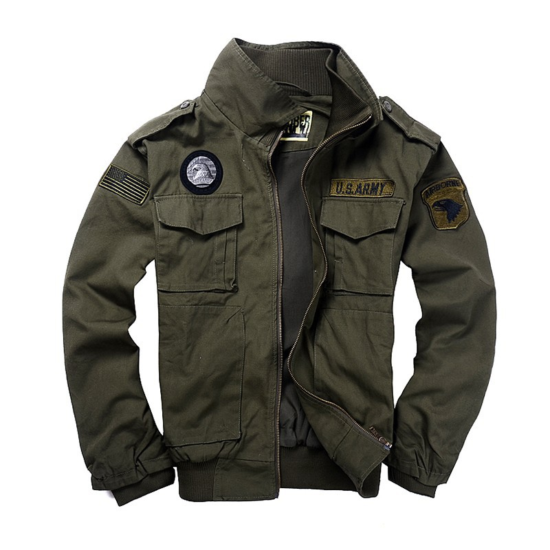 BEst Jacket Spring and autumn Outdoor men's thickness camping clothing 101 flight jacket Men casual jacket Military uniform(China (Mainland))