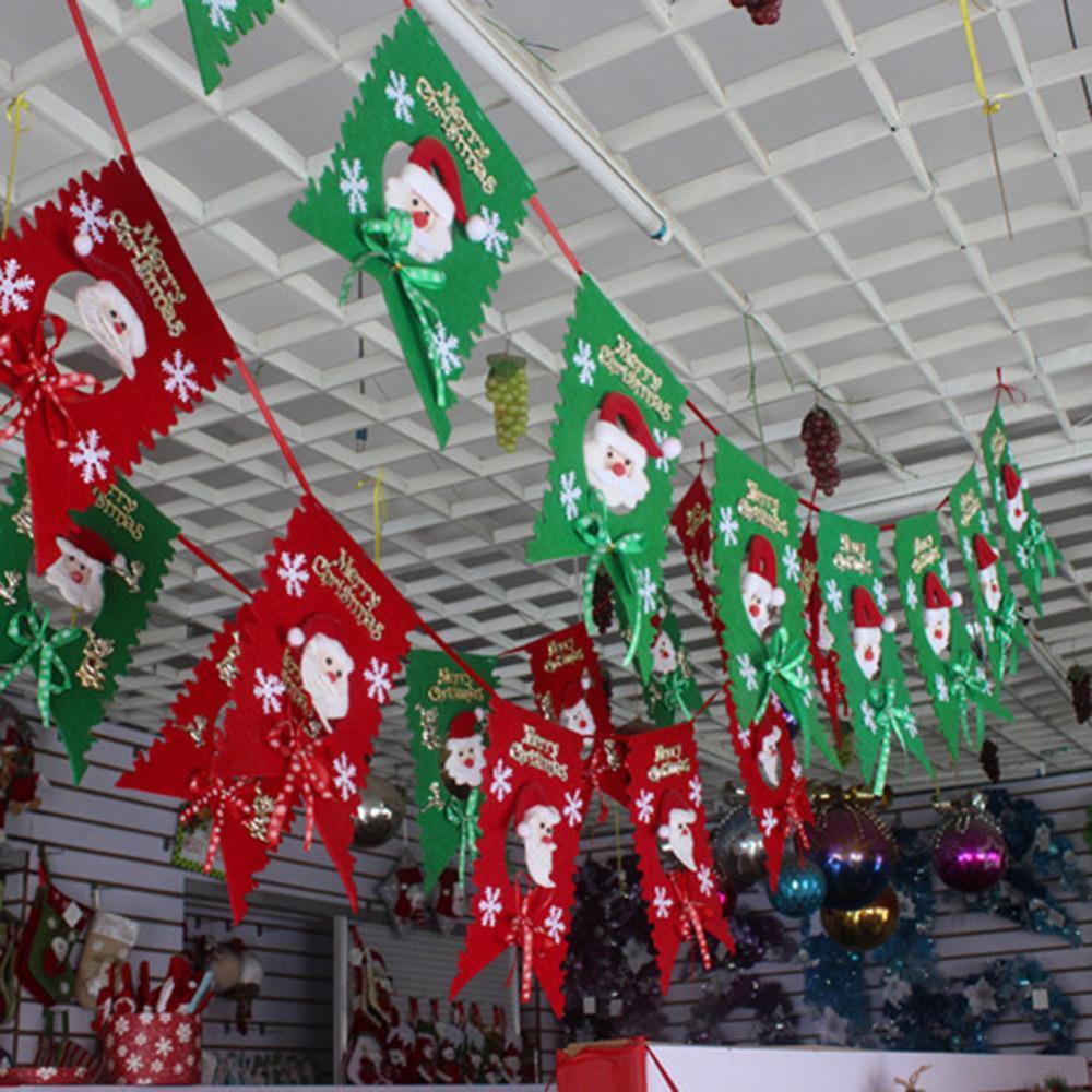Christmas Decorations All Year Long: Christmas Colorful Christmas New Year 2 M Long Flag