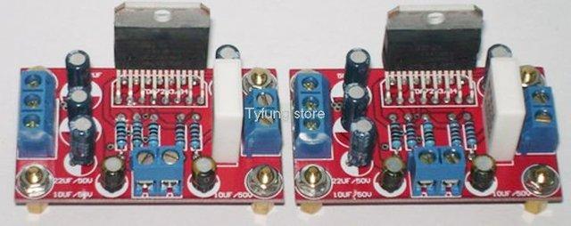 F182A5 5Pcs/lot DIY Amplifier PCB board TDA7294 Amplifier board(1+1) Dual-channel 2*85W