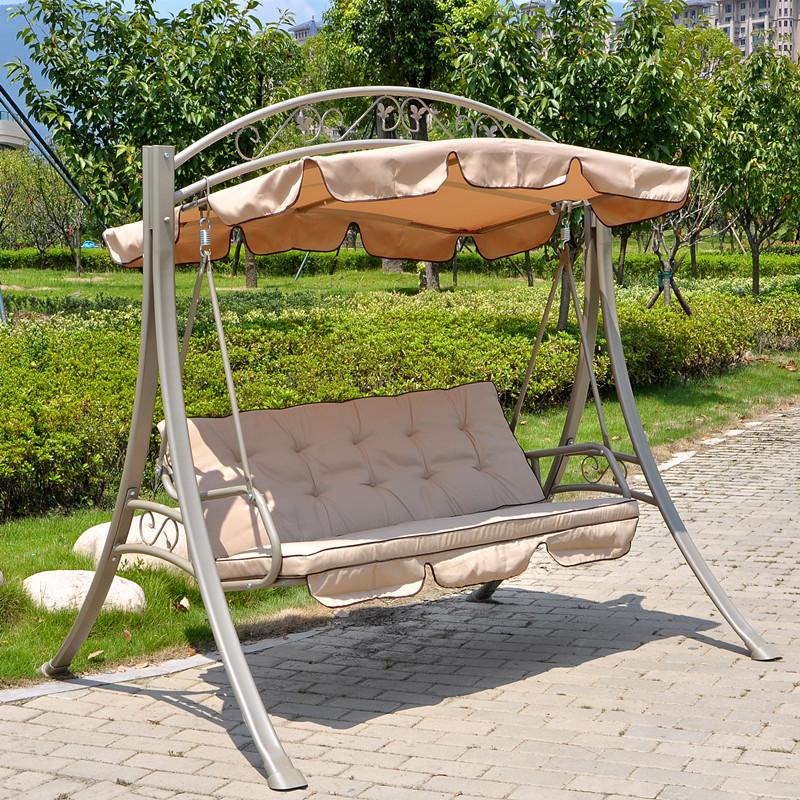 Cradle swing hanging chair hammock baskets balcony patio for Balcony hammock