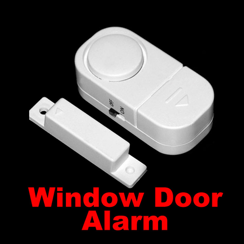 DU# High Quality Wireless Door Window Entry Burglar Alarm Safety Security Guardian Protector Magnetic Sensor Free Shipping(China (Mainland))