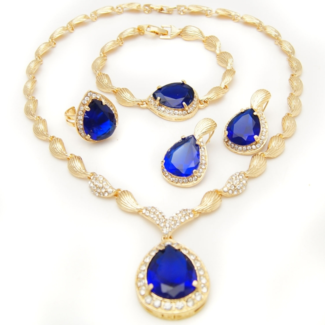 buy wholesale bridal necklace gold plated