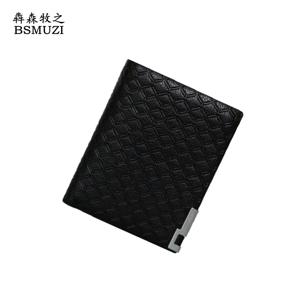 Wallet Men PU Leather Purse Big Capacity Multi-Function Card Holder Luxury Brand Men Purses For Business Men Wallets Carteira(China (Mainland))