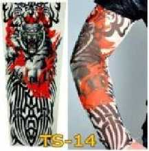 1 piece Fashion movement is prevented bask in Temporary sleeves Elasticity tattoo Oversleeve Arm Warmers . SNY08272(China (Mainland))