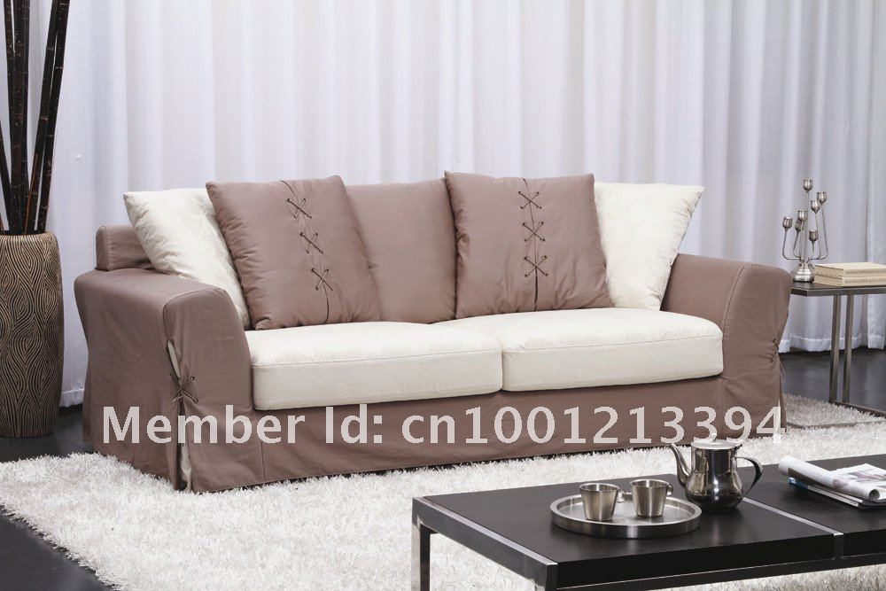 Modern Furniture Living Room Fabric Sofa 3 Seater Sofa