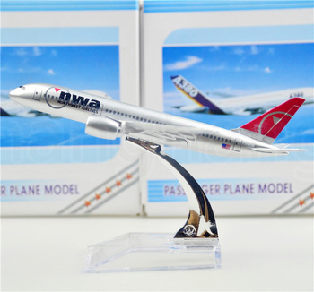 American Northwest Airlines NWA Boeing 747-400 16cm model airplane kits child Birthday gift plane models toys Christmas gift(China (Mainland))