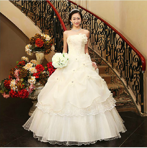 Vintage sweep train wholesale wedding dresses from reliable wedding