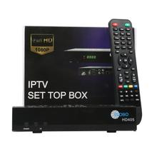 BOX HD405 Satellite Receiver USB DDR3 Media Player Set Top Box