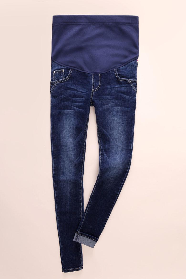 Denim Elastic Waist Maternity Jeans Pregnant Pants Clothes For Pregnant Women Pregnancy Winter Fall High Quality Cotton