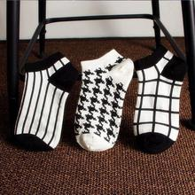 2016 Special Offer Direct Selling Plaid The New Ship Cotton Socks Wholesale Korean Chequered Bars Deodorant