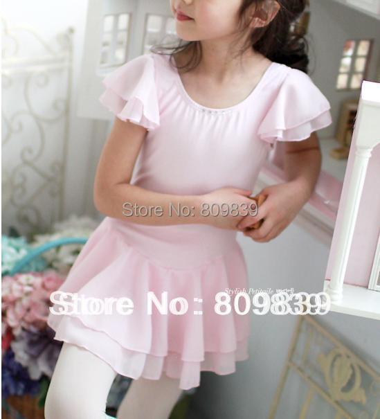 Girls/child Ballet Costume Tutu Skirt Kids Party Gymnastics Leotards Dance Skate Dress 3-8Y 4 Colors - Beautiful dancers dance supplies shop store