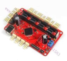 3D Printer Teensylu V0.8 Board Hi3D RepRap Prusa Mendel Printer Driver Board/main board with Manual  Free Shipping