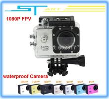2014 Newest Original Action Sport DVR Diving Waterproof Camera 1080P Full HD Gopro Style for Drone X350 pro FPV rc hel girl gift