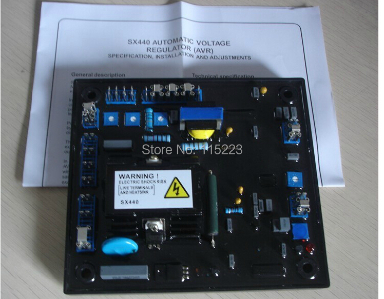 Stamford SX440 Automatic Voltage Regulator Avr For Generator (Free Shipping)<br><br>Aliexpress