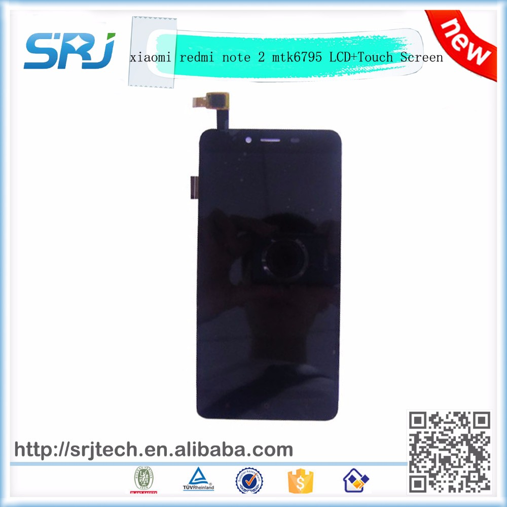 For Xiaomi Redmi Note 2 MTK6795 Mobile Phone LCD Display+Touch Screen Replacement Parts Digitizer Glass Sensor Assembly
