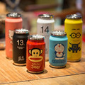 Promotion Stainless Steel Anime Baymax 1314 kt Coke Jingle Mugs Children Cans With Straw Insulation Cup