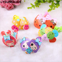Buy LYSUMDUOE Hello Kitty Bow Kids Hair Accessories BB Rim Girls Crystal Scrunchy Girl Headband Cute Elastic hair Bands Headbands for $1.46 in AliExpress store
