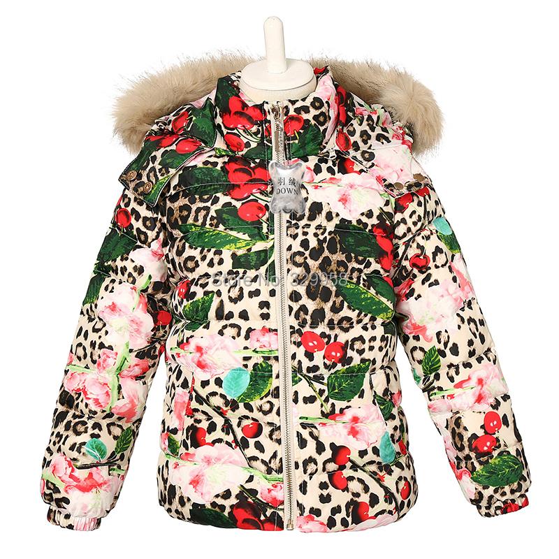 Girls Leopard Print Coat - JacketIn