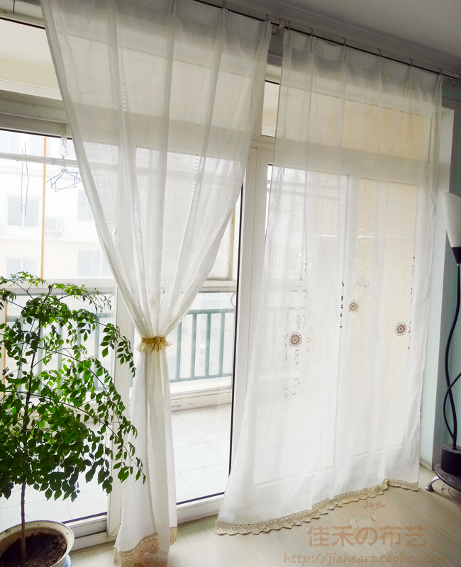 buy s v fashion white curtains for living room window