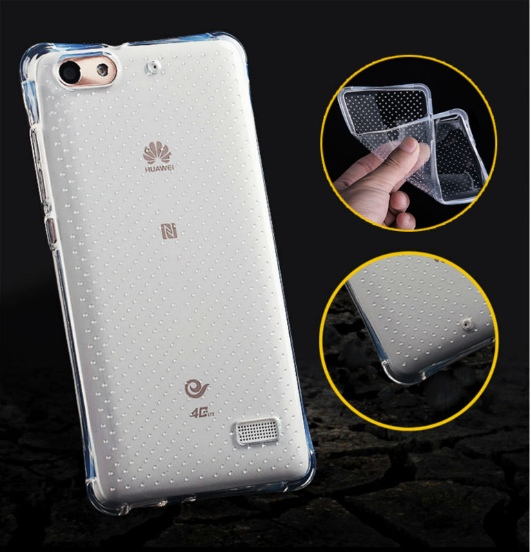Clear TPU Gel Soft Case Huawei P8 P9 LITE P7 G8 MATE 7/8 / Honor 6 7 7i 4C 5C 4A 4X Silicon Rubber Transparent Cover  -  Hots store