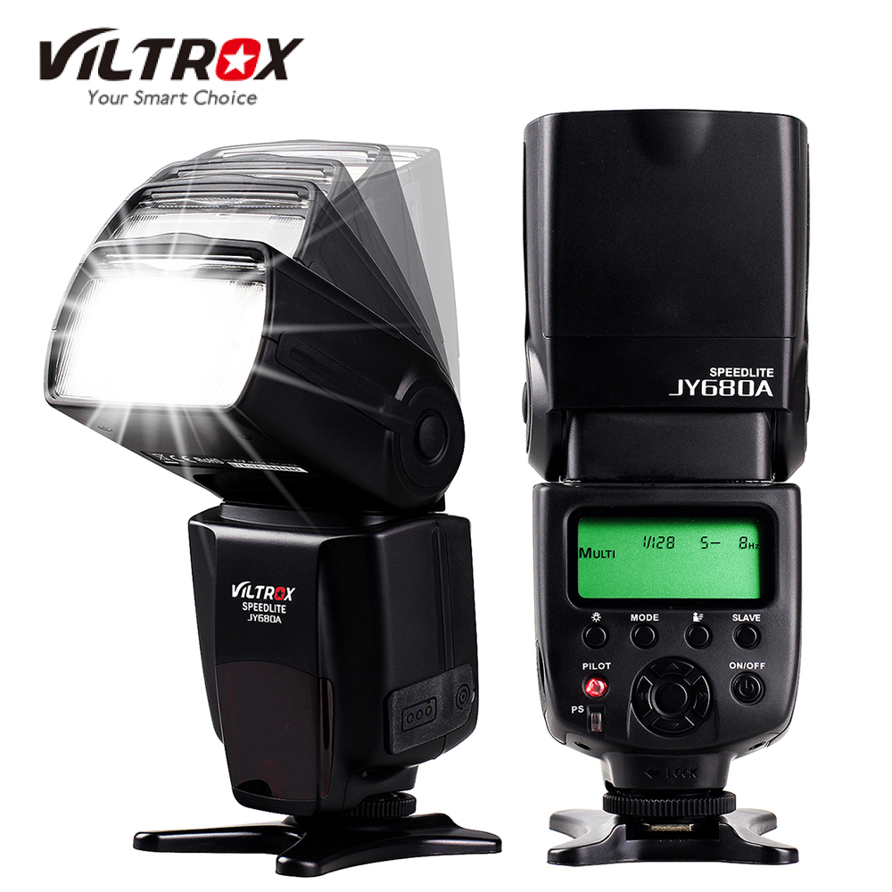 DE/ES STOCK Viltrox JY680A On-camera Flash GN33 Speedlite Flash Light with LCD Screen for Canon Nikon Sony Pentax DSLR Camera(China (Mainland))