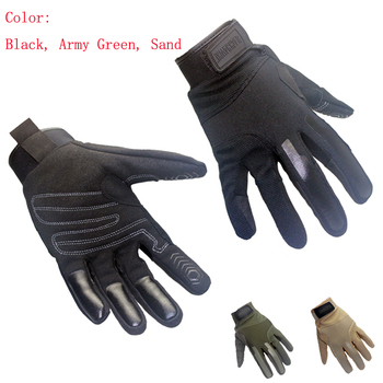 Outdoor Sports Anti skidding  Tactical Combat Assualt Glove Bicycle  Cycling Camping Hiking Hunting Gloves