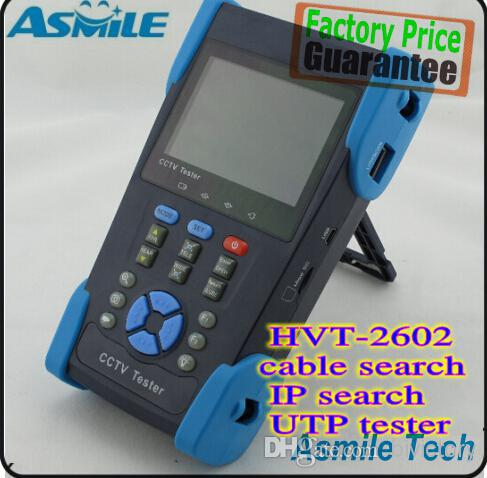 "3.5"" CCTV security camera tester monitor IP network camera IP address testing cable tracer POE PTZ UTP cable test(China (Mainland))"