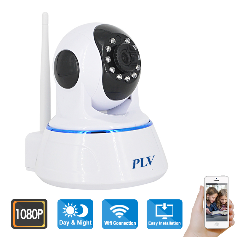 PLV 2016 New Best Baby Monitor IP Camera WIFI 1080P Full HD 2.0MP Robot Camera Onvif CCTV Video Surveillance Home Security(China (Mainland))