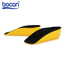 Height Increase Insoles Half Pad 3cm Invisible Elevator Cushion Massaging Insole PU material Orthopedic Insole for Men and Women