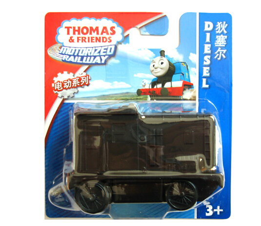 Authorized Thomas & Friends Electric locomotive Diesel Diecast Metal Thomas hook Plastic metal Railroad Train kids toy(China (Mainland))