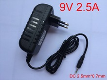 Buy 1PCS High New 9V 2.5A AC 100V-240V Converter Adapter DC 2500mA Power Supply EU Plug PiPo M3 M6Pro M6 M8 Tablet PC for $4.29 in AliExpress store