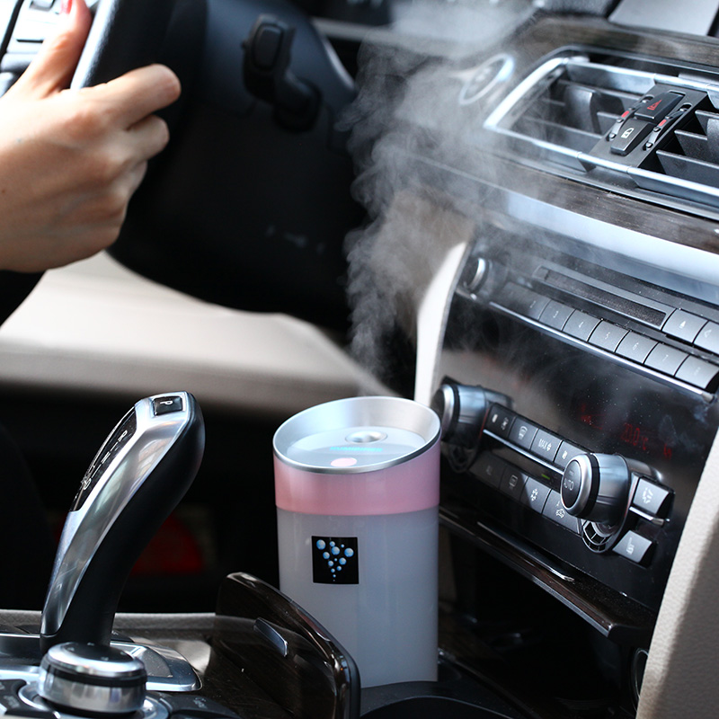 300ML Ultrasonic Humidifier USB Car Humidifier Mini Aroma Essential Oil Diffuser Aromatherapy Mist Maker Home Office(China (Mainland))