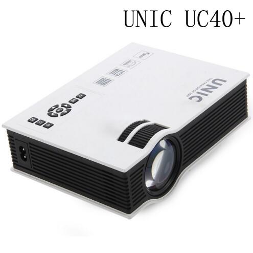 2016 Original UNIC UC40+ UC40 Mini Pico Portable 3D Projector HDMI Home Theater Beamer Multimedia Projector Full HD 1080P Video(China (Mainland))