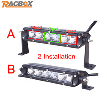 1 pcs 7inch 30W With CREE LED Chips LED Light Bar Combo Beam Offroad Light 12V 24V For Truck Tractor Trailer Hunting Work Light(China (Mainland))