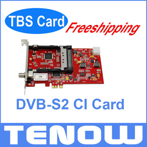 TBS Card TBS6928SE CI Satellite TV Tuner Card,Watch Free to Air TV or PayTV on your PC(China (Mainland))
