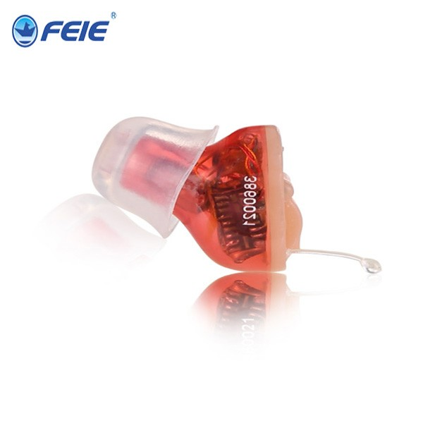 Reasonable Price Digital Ear Sound Amplifier Mini Programmable CIC Hearing Aid deaf earphones S-12A