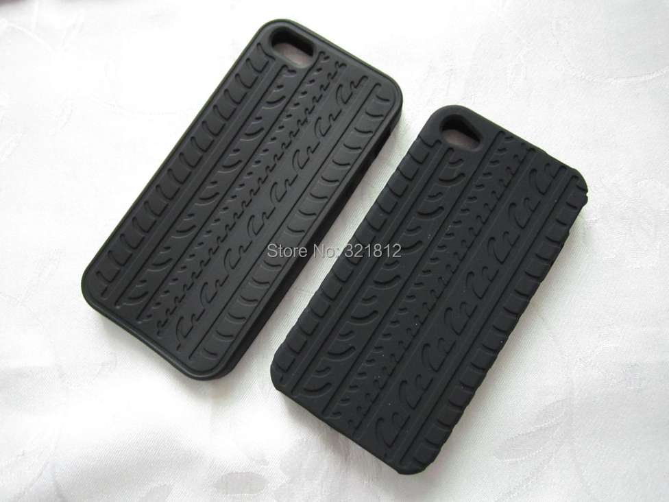 Tough Tire tyre Soft Case For Iphone 6 6S Plus 5 5S 4 4S 5C 3gs Touch 5 Samsung Galaxy S5 S3 Mini S4 Silicone Rubber Skin 20PCS(China (Mainland))
