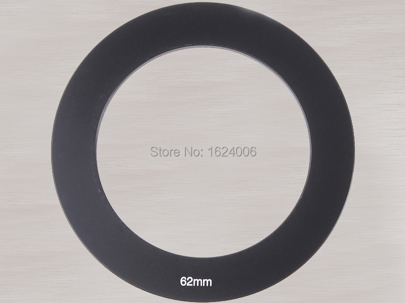 Wholesale 62mm rings insert filter square gradient Lens adapter ring 62 for SLR camera(China (Mainland))